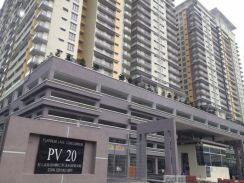 PV20 Condo Near Giant Setapak KL - Single Room (For 1 Person)