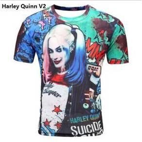 DAI107 horror shirt plus size cloth shirts top