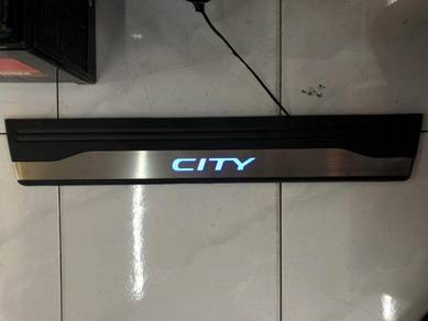Honda city civic side steel pad oem with led light