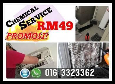 Aircond Aircon TERMurah Keramat/KL/Selangor
