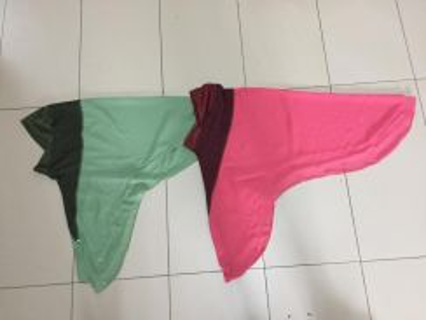 2 helai Tudung soft awning size L