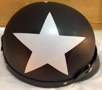 Helmet (Black Matte STAR) + Goggles + POS
