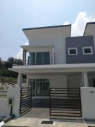 New Double Storey at Taman Bukit Berangan