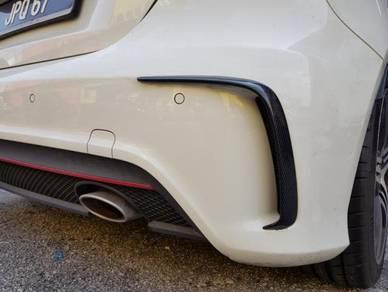 Mercedes A45 A250 W176 facelift rear bumper canard