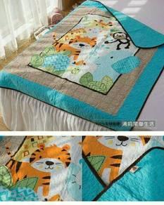 Cute cartoon baby kids blanket quilt
