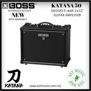 Boss Katana 50 watt adjustable guitar amplifier