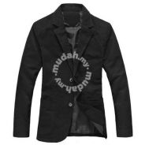 England Classic Black Blazer Formal Coat Jacket
