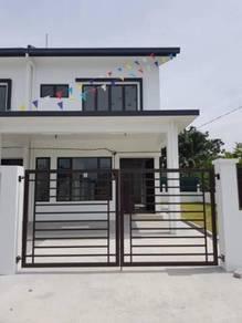 Freehold new 2-storey terrace house at sg jati klang