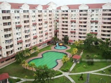 Perdana Villa Condominium, Klang, Tingkat 3, Renovated, Freehold