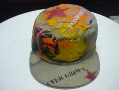 Vintage peter grimm painter hat round cap