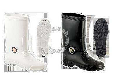 WProof Lining PVC Boots Korakoh 13In White 6000AW