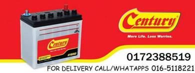 Car battery delivery batteries kereta century amar