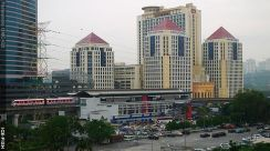 Amcorp serviced suites Fully furnish nr LRT Taman Jaya Lake View BAC
