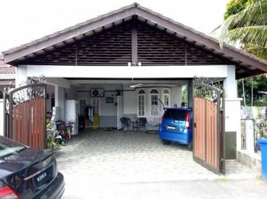 Single storey corner lot taman alam megah shah alam