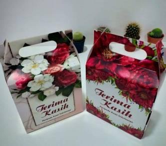 BoxDoorgift/WeddingBox Readymade RM0.29 1pcs