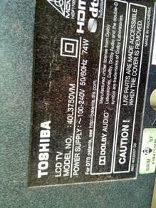 Toshiba .lED40L3750vM