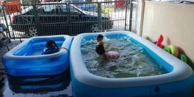 Kolam Besar Utk Kanak2 & Dewasa Inflatable Pool