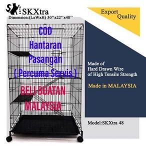 3- Tingkat sangkar kucing malaysia