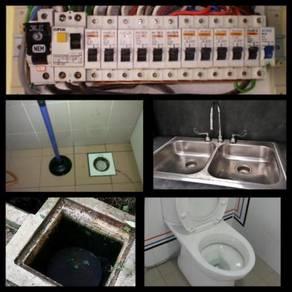 Pakar repair plumbing & wiring elektrik rumah