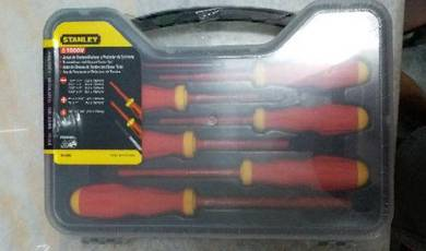 Original stanley insulated vde screwdriver set 6