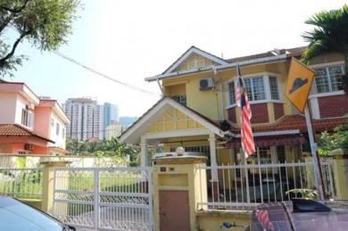 FREEHOLD Double Storey Corner Lot,Taman Melati, Kuala Lumpur