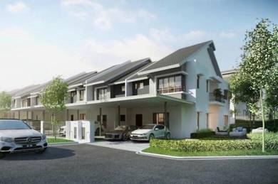 New double storey at seremban