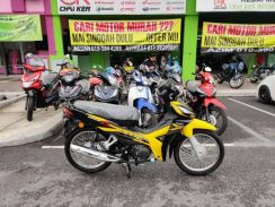 Honda wave alpha bulanan murah ready stock