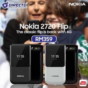 ORIGINAL NOKIA 2720 (4G / DUAL sim / CLASSIC FLIP)