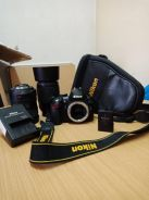 Nikon Camera With Two Lens