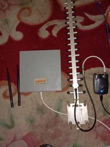 Wifi dual antenna usb adapter