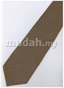 GO7 Gold Top Quality Solid Formal Neck Tie