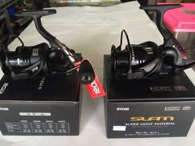 Ryobi Slam Black 1000 - 6000 Fishing Reel Pancing