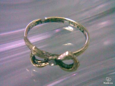 ABRB-B001 Bow Knot Bronze Ring - Adjustable Size