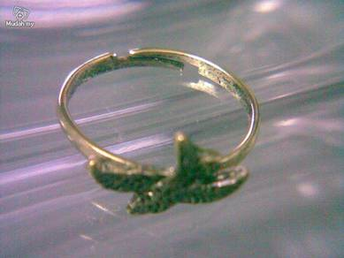ABRB-S006 Swallow Bird Bronze Ring - Adjustable