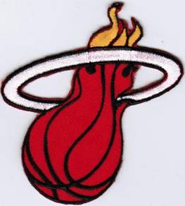 NBA Miami Heat National Basketball Badge Patch