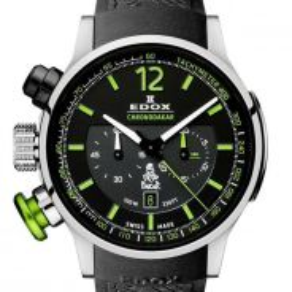 Edox Dakar III Titanium Chronograph 10303 TIN NV