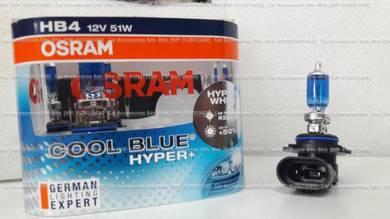Osram cool blue hyper+ 5000k 50%more light hb4