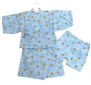 (WJ 0087)Bugs Kids Kimono Set (Top + Short Pants)