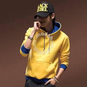 Madman Hoodies Sweater Pullover Jacket - Yellow