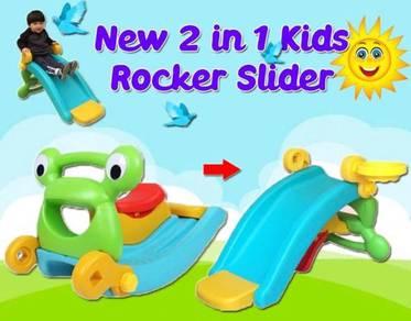 New 2 in 1 kids rocker slider