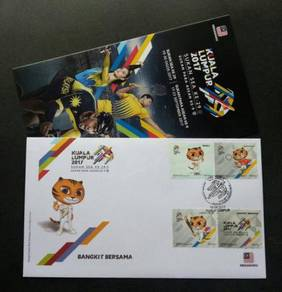 First Day Cover Sea Games Malaysia 2017