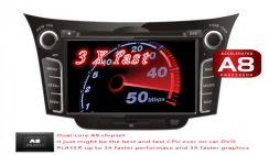 MXLL Hyundai i30 oem dvd gps player HD
