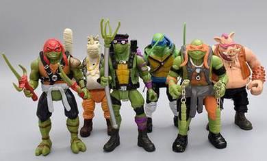 Ninja Turtles TMNT 6pcs toys set