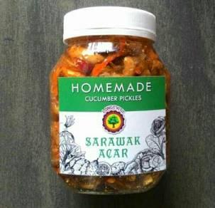 Homemade Sarawak Acar