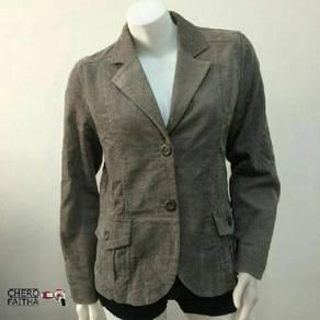 Simple Life corduroy Coat Cardigan female baju kot