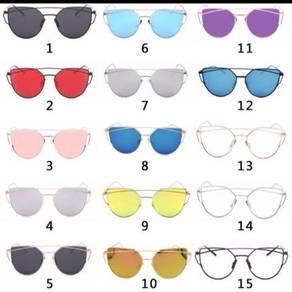 Women Sunglasses Sunscreen Anti-UV Color Film