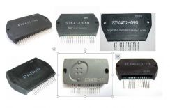 Stk ic for power amplifier