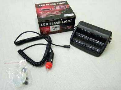 Lampu LED Strobe Light Flashing RED BLUE - BARU