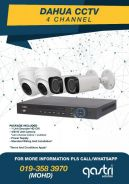 CCTV 4 Channel Pakage 2mp with Installation