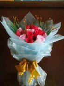 Hand Bouquet - Bunga Segar